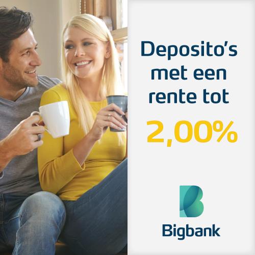 BigBank Deposito sparen | GeldGewoontes.nl