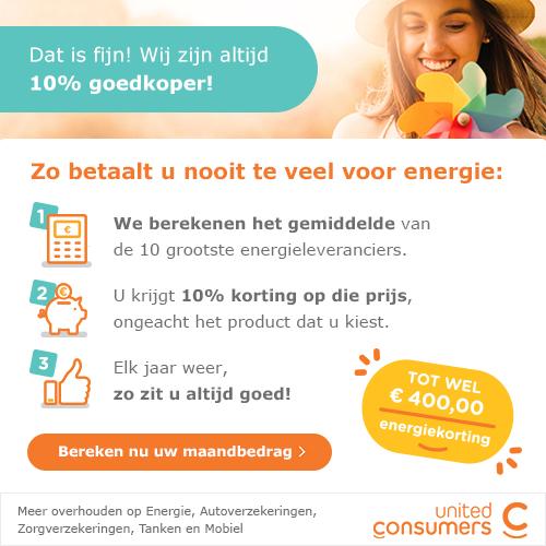 UnitedConsumers Energie | GeldGewoontes.nl