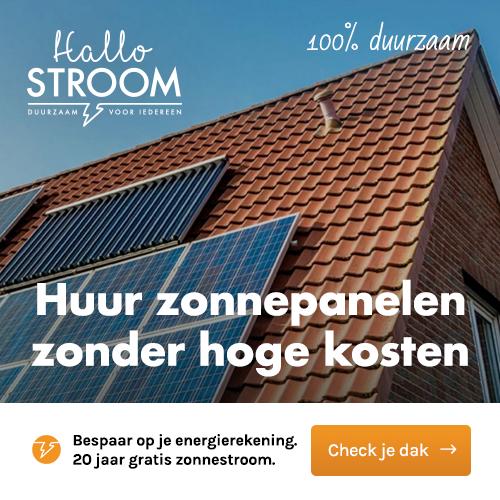 Zonnepanelen huren via Hallo Stroom | GeldGewoontes.nl