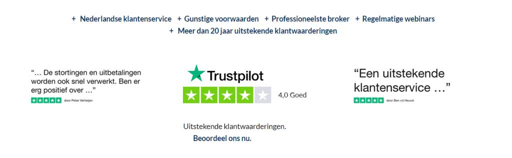 FXFlat beoordeling Trustpilot